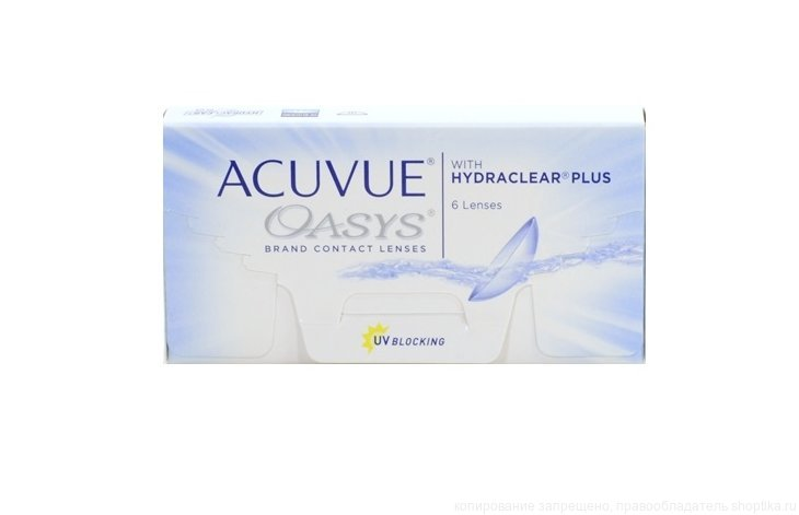МКЛ Johnson ACUVUE OASYS